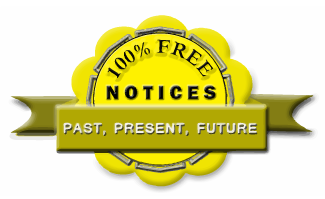100% Free PAST, PRESENT, FUTURE NOTICES SERVICES, I-FINAL.COM, i-final